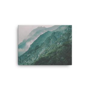 Mountain Lake Canvas - CalvinMade
