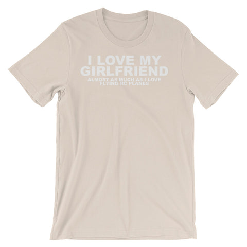 Image of I Love my Girlfriend Unisex short sleeve t-shirt - CalvinMade