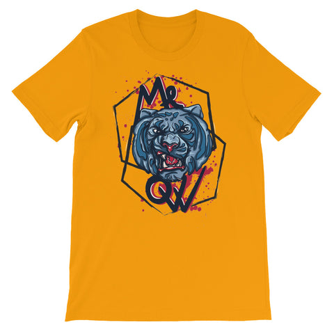 Image of Meow Unisex short sleeve t-shirt - CalvinMade