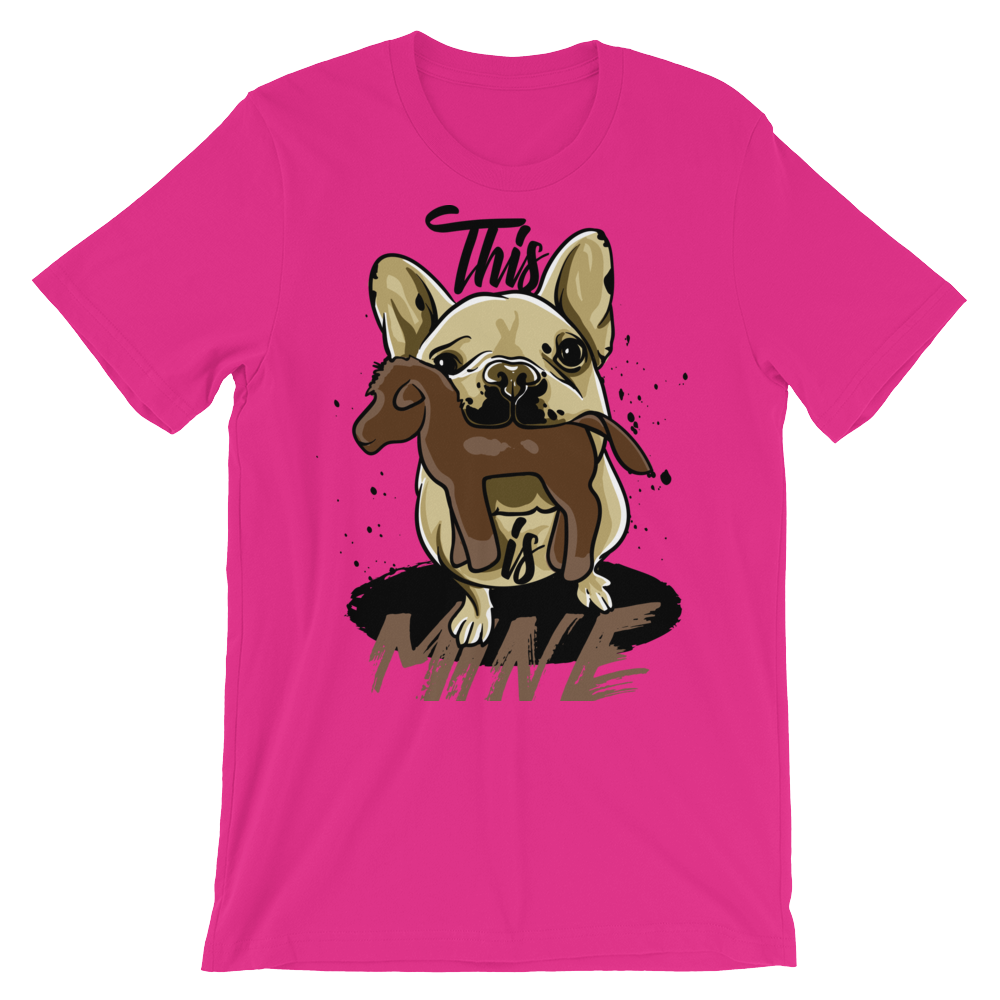 This is Mine Unisex short sleeve t-shirt - CalvinMade