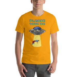 Retro Abduction Short-Sleeve Unisex T-Shirt