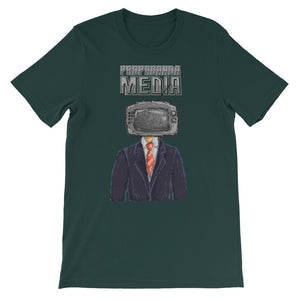 Propaganda Media Short-Sleeve Unisex T-Shirt - CalvinMade