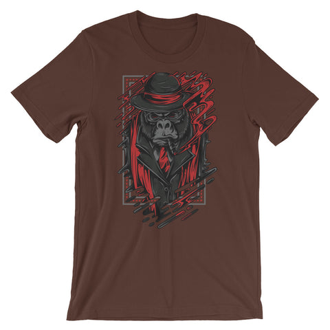 Image of Mafia Monkey Unisex short sleeve t-shirt - CalvinMade