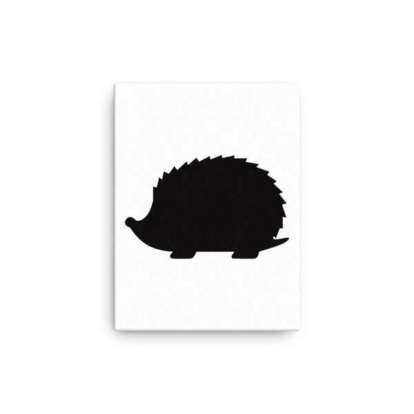 HedgeHog silhouette Canvas - CalvinMade