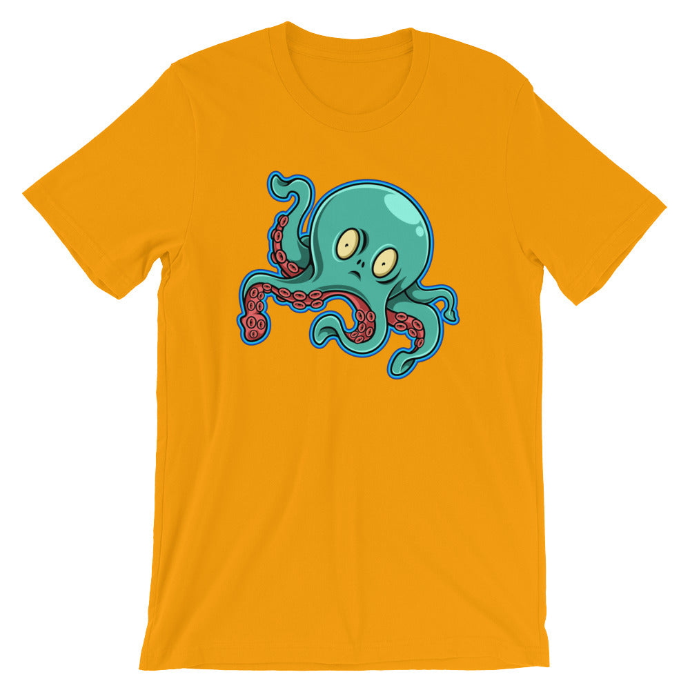 Octopus Unisex short sleeve t-shirt - CalvinMade