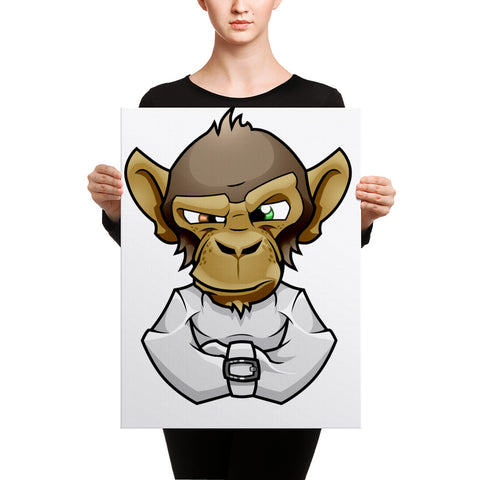 Image of Mad Monkey Canvas - CalvinMade