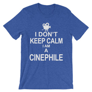 Cinephile Unisex short sleeve t-shirt - CalvinMade