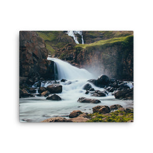 Water Fall Canvas - CalvinMade