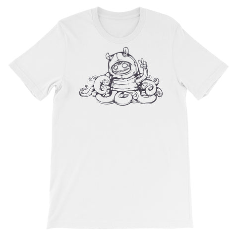 Image of Awkward Unisex short sleeve t-shirt - CalvinMade