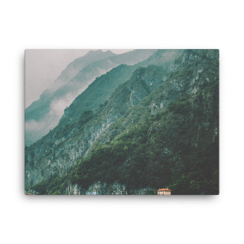 Image of Mountain Lake Canvas - CalvinMade