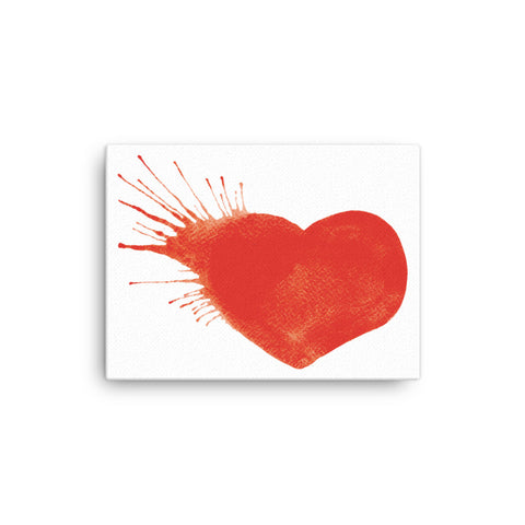Image of Heart Explosion Canvas - CalvinMade