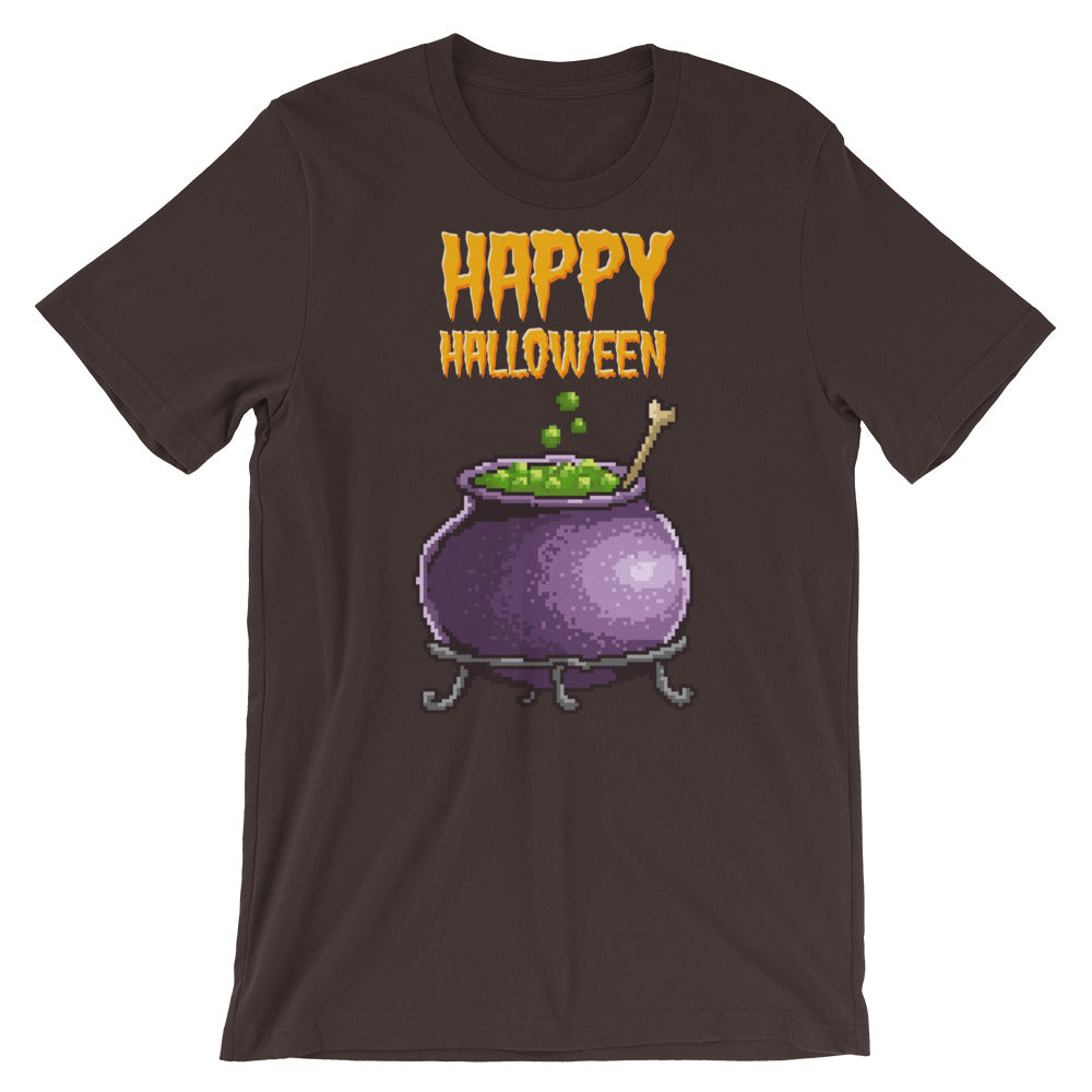 Retro Happy Halloween Short-Sleeve Unisex T-Shirt