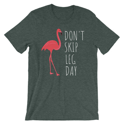 Image of Don't Skip Leg Day Short-Sleeve Unisex T-Shirt - CalvinMade
