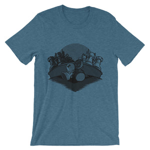 Chess Love Story Short-Sleeve Unisex T-Shirt - CalvinMade