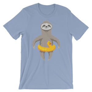 Slothcation Unisex short sleeve t-shirt - CalvinMade
