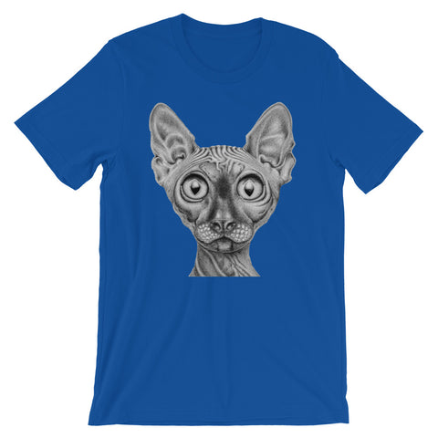 Image of Sphynx Short-Sleeve Unisex T-Shirt - CalvinMade