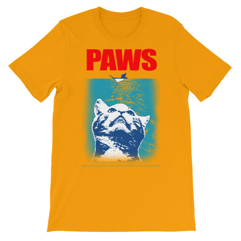 Image of Paws Unisex short sleeve t-shirt - CalvinMade