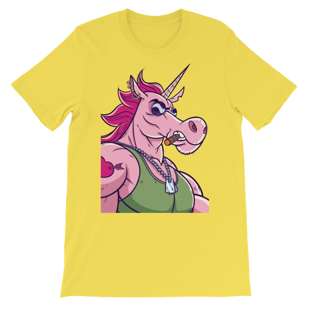 Unicorn Unisex short sleeve t-shirt - CalvinMade