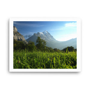 Swiss Mountains Canvas