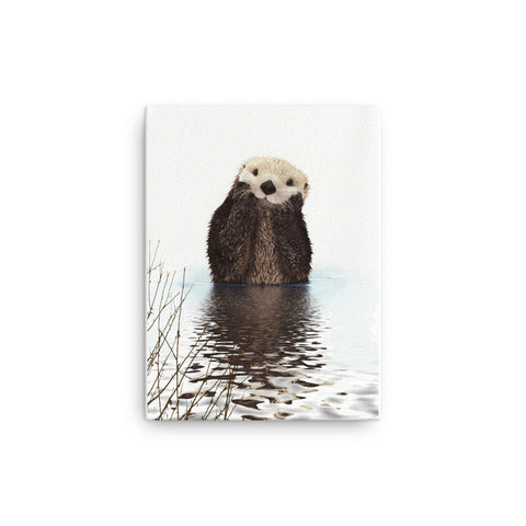 Image of Otter Canvas