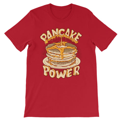 Image of Pancake Power Short-Sleeve Unisex T-Shirt - CalvinMade
