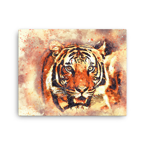 Image of Tiger Hunt Canvas