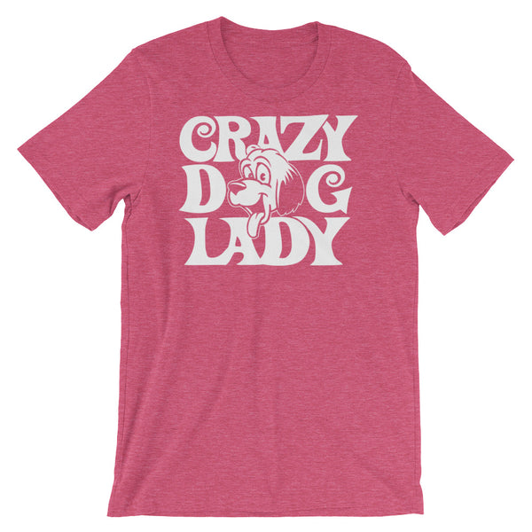 Crazy Dog Lady Unisex short sleeve t-shirt