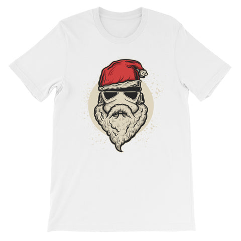 Image of Santa Trooper Unisex short sleeve t-shirt - CalvinMade
