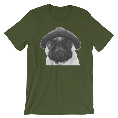 Image of Life of a Pug Unisex short sleeve t-shirt - CalvinMade