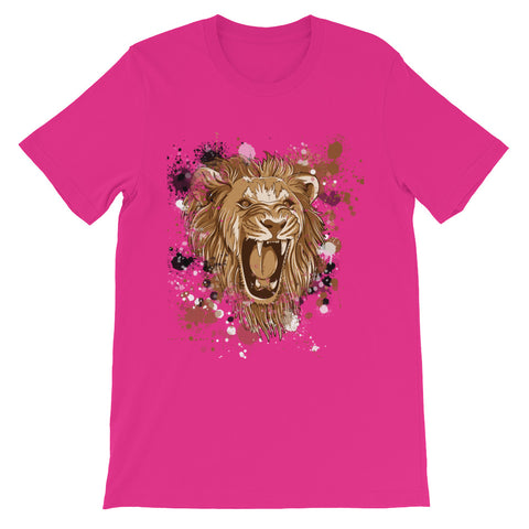 Image of Lion Roar Unisex short sleeve t-shirt - CalvinMade