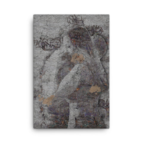 Image of Love Embrace Canvas - CalvinMade