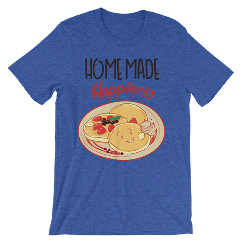 Image of Home made Happiness Unisex short sleeve t-shirt - CalvinMade