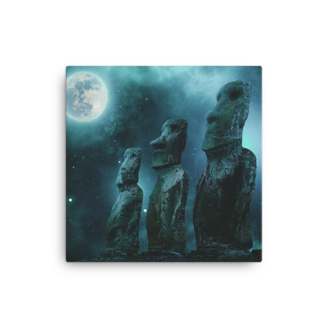 Image of Alien Moon Canvas