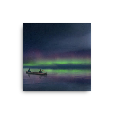 Image of Canoe Moon Canvas