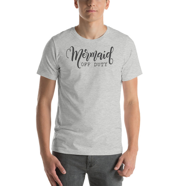 Mermaid Off Duty Short-Sleeve Unisex T-Shirt - CalvinMade