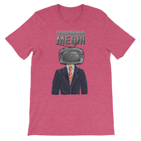 Image of Propaganda Media Short-Sleeve Unisex T-Shirt - CalvinMade