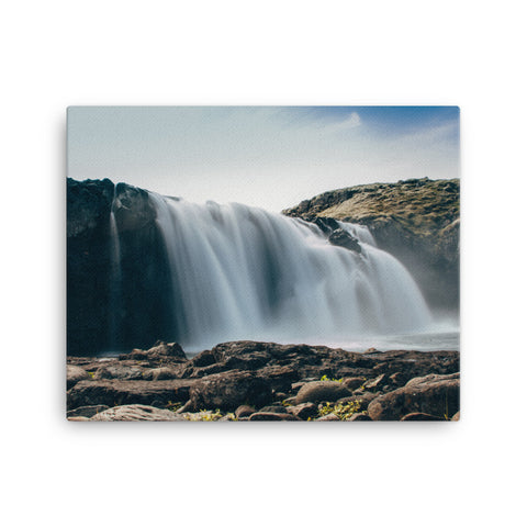 Image of Large Water Fall Canvas - CalvinMade