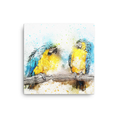 Image of Parrot Canvas