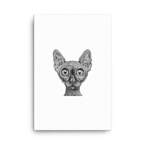 Image of Sphynx Canvas - CalvinMade
