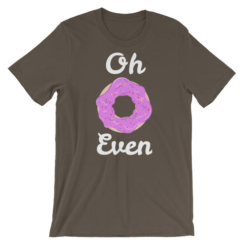 Image of Oh Donut Even Short-Sleeve Unisex T-Shirt - CalvinMade