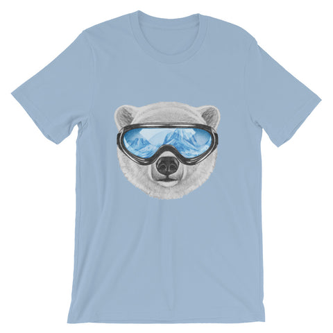 Image of Polar View Unisex short sleeve t-shirt - CalvinMade