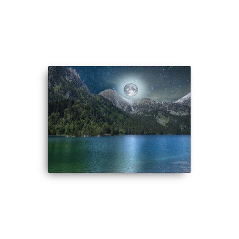 Image of Moon Lake Canvas