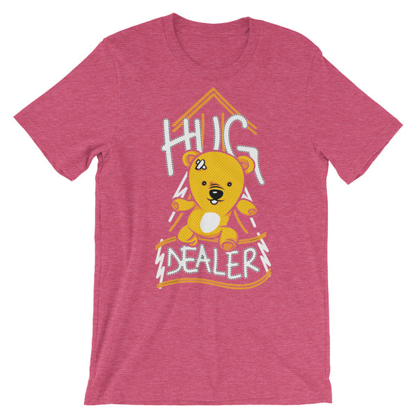 Hug Dealer Unisex short sleeve t-shirt