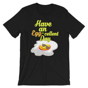 Retro Have an Egg-cellent day Short-Sleeve Unisex T-Shirt
