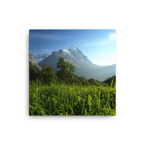 Image of Swiss Mountains Canvas