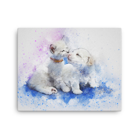Cats and Dogs Canvas