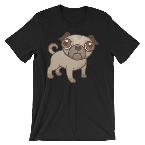 Pug Puppy Unisex short sleeve t-shirt