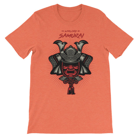 Image of Warlord Samurai Unisex short sleeve t-shirt - CalvinMade