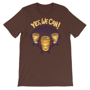 Yes We Can Short-Sleeve Unisex T-Shirt - CalvinMade