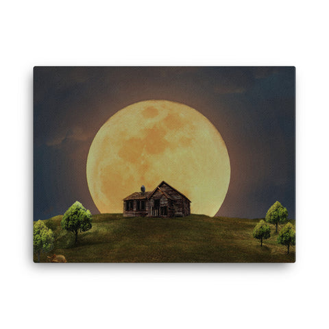 Image of Full Moon Canvas